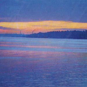 Sunset on the Volga. Kineshma, 1971