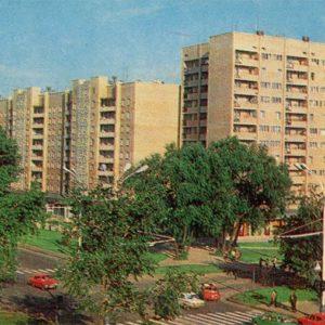 International street. Tambov, 1982