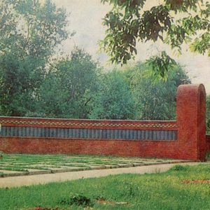 Мемориал на воинском кладбище. Тамбов, 1982 год