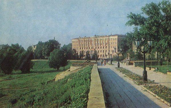 Улица Набережная. Тамбов, 1982 год