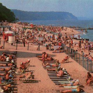 Beach. Svetlogorsk, 1975