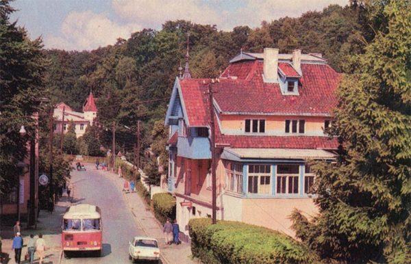 На улице города. Светлогорск, 1975 год