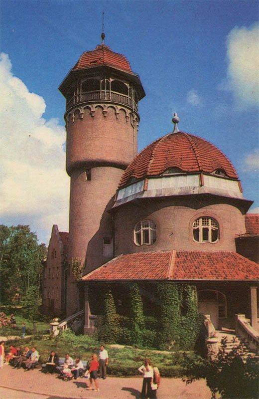 Лечебный корпус санатория. Светлогорск, 1975 год