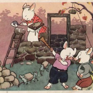"""Fairy tale """"The Three Little Pigs"""", 1964"""