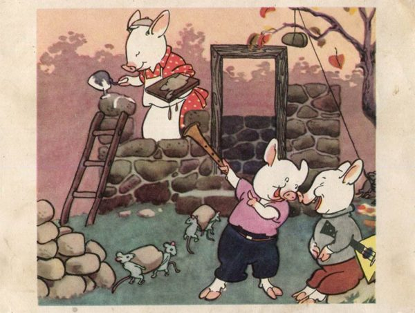 "Fairy tale ""The Three Little Pigs"", 1964"
