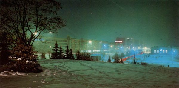 Проспект Машерова. Минск, 1983 год