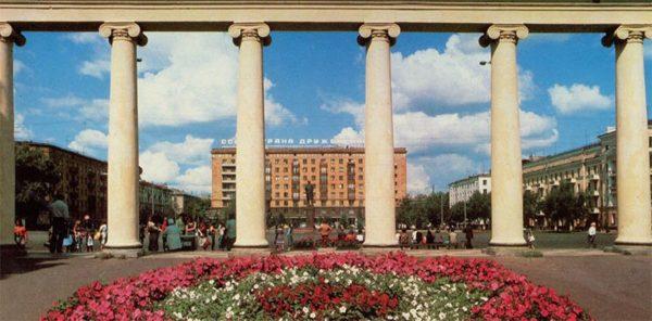 Площадь Калинина. Минск, 1983 год