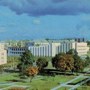 Бульвар Луначарского. Минск, 1983 год
