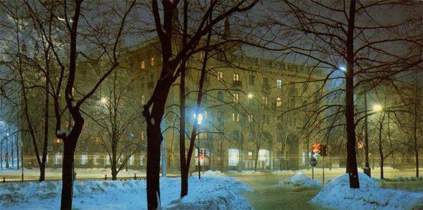 Улица Кирова. Минск, 1983 год
