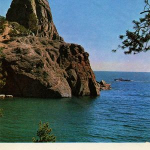 Little Rock Belfry. Baikal, 1971