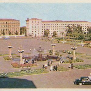 Площадь Ленина. Хабаровск, 1975 год