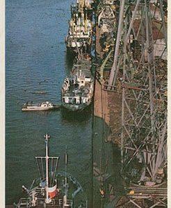 Cargo port. Nikolaevsk-on-Amur, 1975