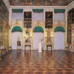 Большой дворец. Портретный зал. Петродворец, 1986 год