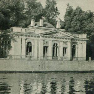 Кофейный домик на берегу Фонтанки. Летний сад, 1969 год
