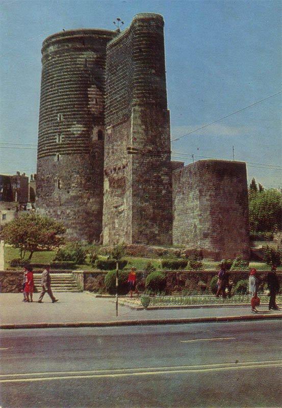 Maiden's Tower. Baku (1974)