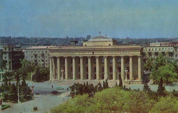 Museum. IN AND. Lenin. Baku (1974)