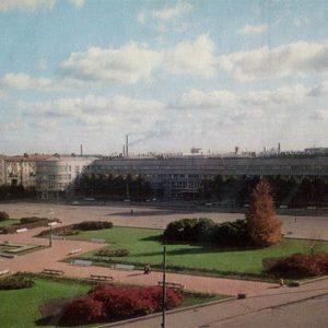 Кировская площадь. Ленинград, 1976 год