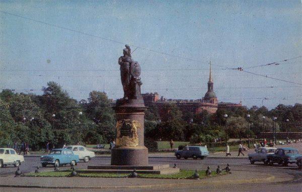 Суворовская площадь. Ленинград, 1976 год