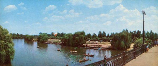 Zhuravlevsky water park. Kharkov, 1971