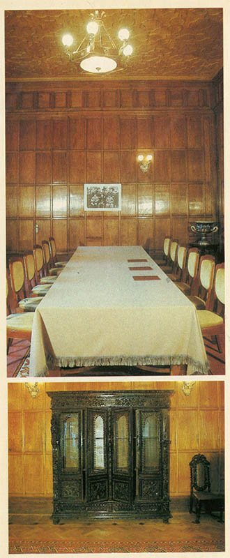 Front room. According to the Livadia Palace, 1986