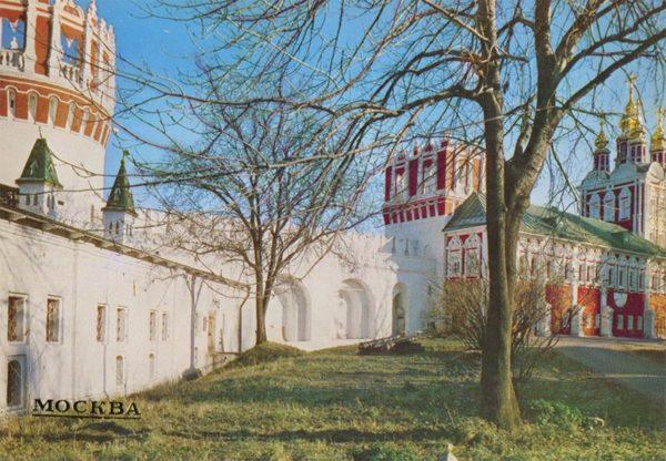 Новодевичий монастырь. Москва, 1986 год