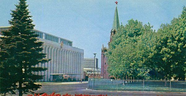 Кремлевский Дворец съездов. Москва, 1977 год