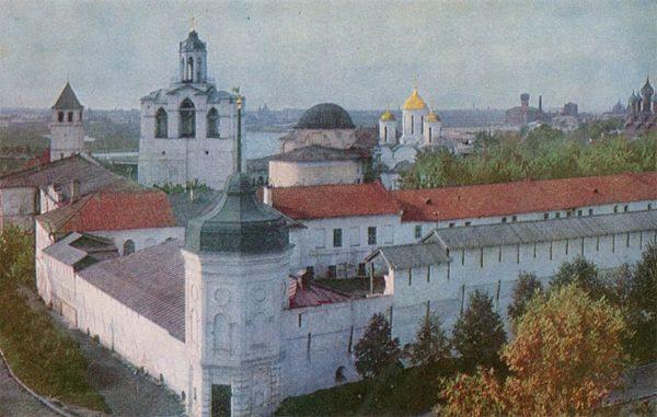 Спасский монастырь XIIв. Ярославль, 1967 год
