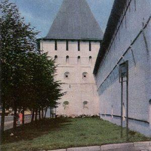 Bogorodskaya tower Spassky Monastery. Yaroslavl, 1967