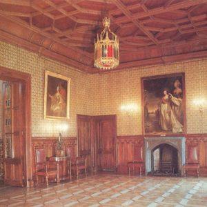 Вестибюль дворца. Алупкинский дворец-музей. Крым, 1988 год