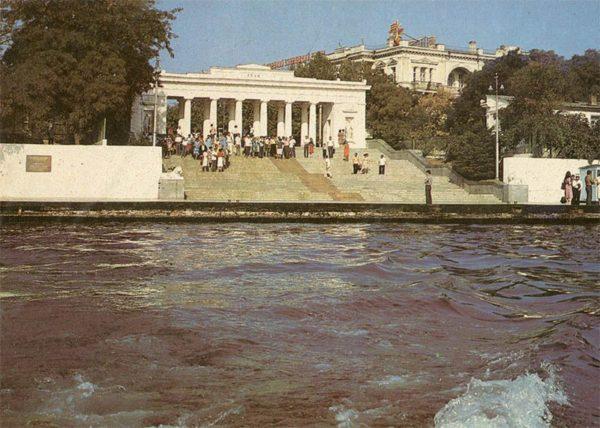 Графская пристань. Севастополь, 1982 год