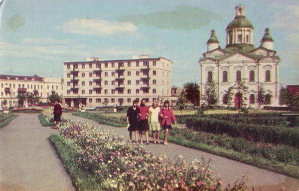 Октябрьская площадь. Тамбов, 1967 год