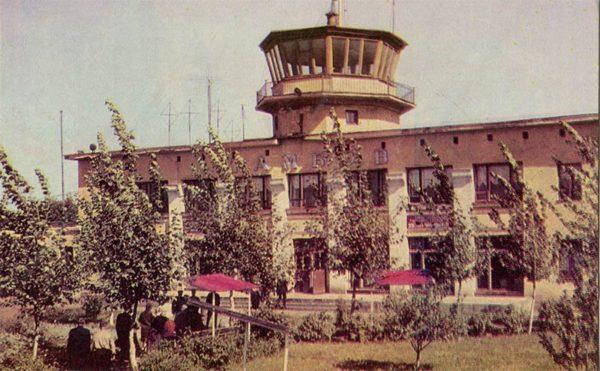 Аэропорт. Тамбов, 1967 год