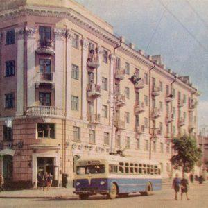 Жилой дом на ул. Советской. Тамбов, 1967 год