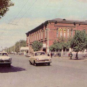 Областная библиотека им.  А.С. Пушкина. Тамбов, 1967 год