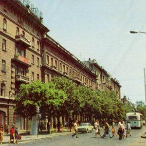 Deribasovskaya Street. Odessa, 1981
