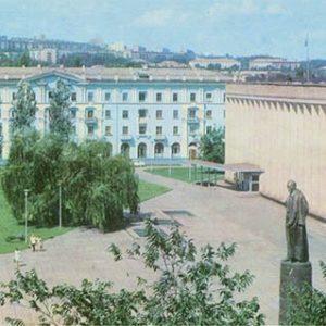 Площадь им.  Ф.Э. Дзержинского. Каменское, Днепродзержинск), 1977 год
