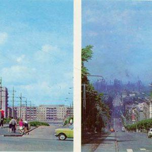 Комсомольский проспект. Проспект им. Ленина, 1977 год