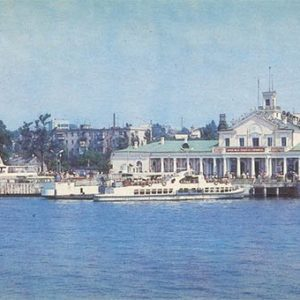 Речной вокзал. Херсон, 1985 год