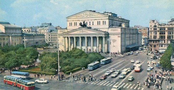 Большой театр. Москва, 1977 год