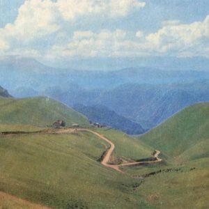 Road to Narzanov Valley. Kislovodsk, 1971
