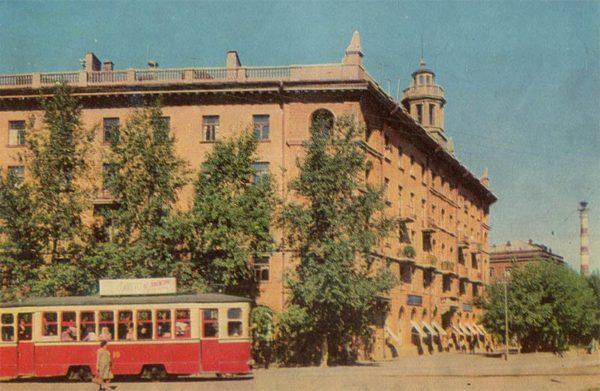 Улица Красных Зорь. Иваново, 1967 год