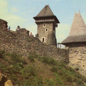 Невицкий замок. Закарпатье, 1982 год