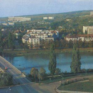 Мост через реку Уж. Ужгород, 1981 год