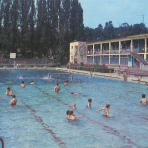 Бассейн. Ужгород, 1981 год