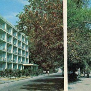 """""""Caucasus"""" pension. Resort prospectus. Gelendzhik, 1976"""