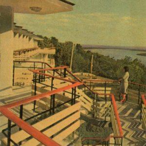 "Гостингца ""Тарасова гора"".  Канев, 1968 год"