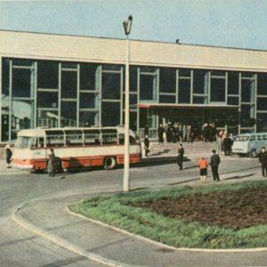 Автовокзал. Ровно, 1968 год