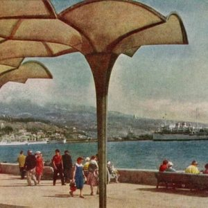 Baywalk. Yalta, 1961