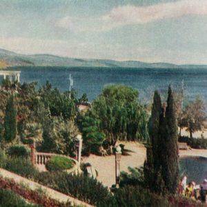 Baywalk. Alushta. Crimea, 1961