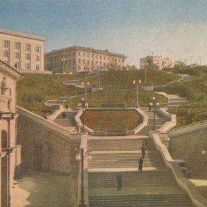 Синопский спуск. Севастополь, 1961 год
